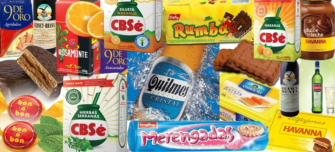 Fondo productos argentinos